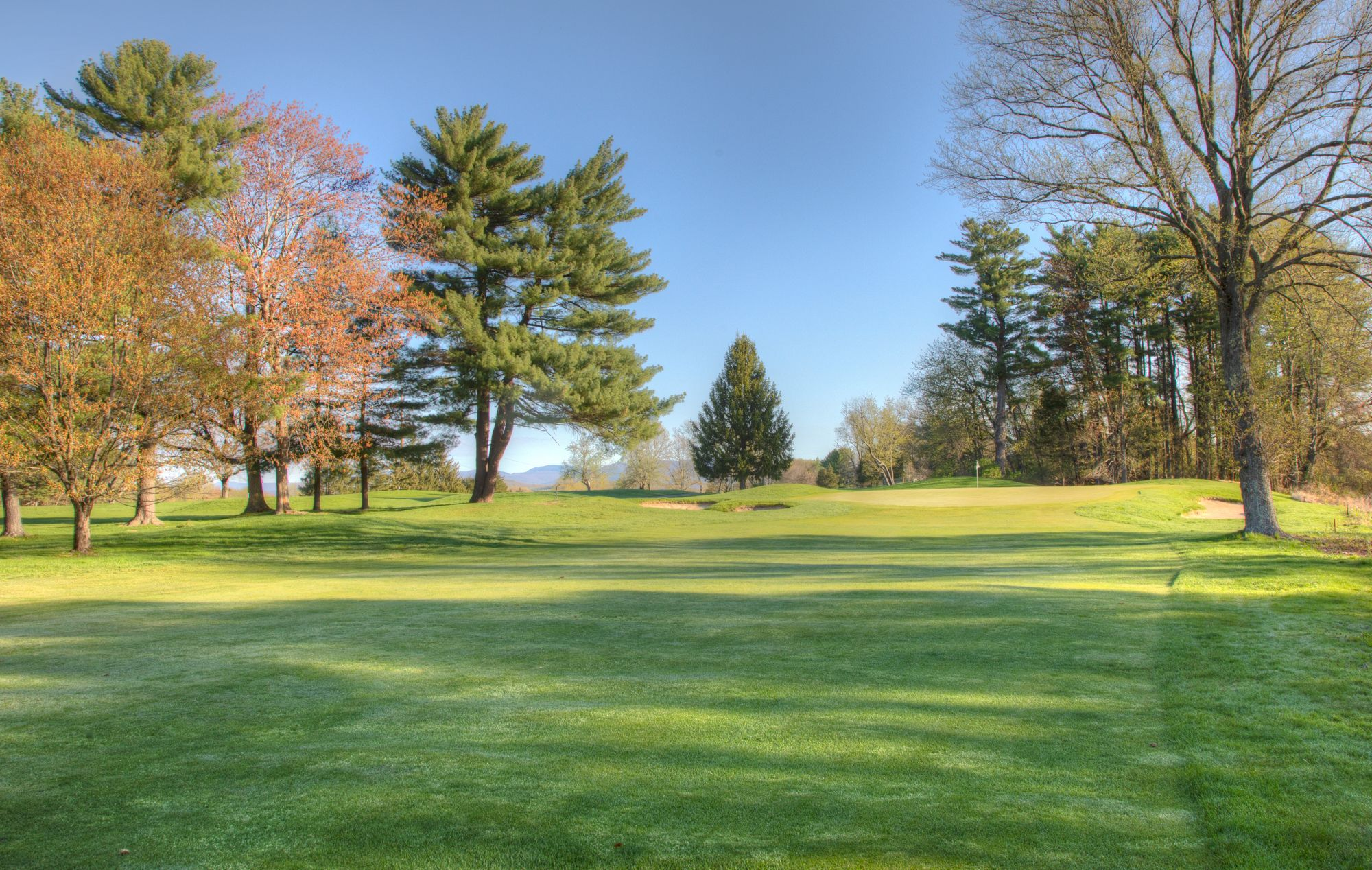 Hole #15- Down the Fairway at Wiltwyck Kingston